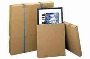 emballage tableau et miroir déménagement