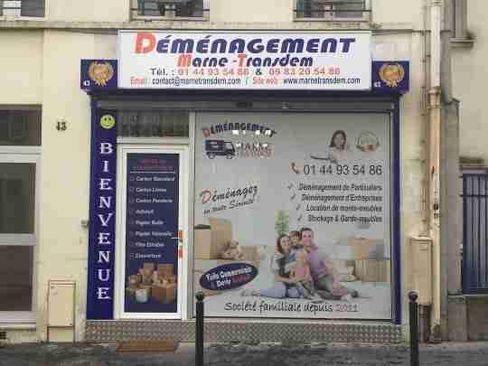 Société déménagement Paris